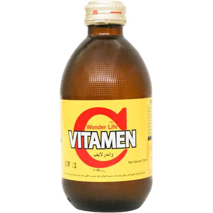 تصویر نوشیدنی گازدار ویتامین C (اصلی)