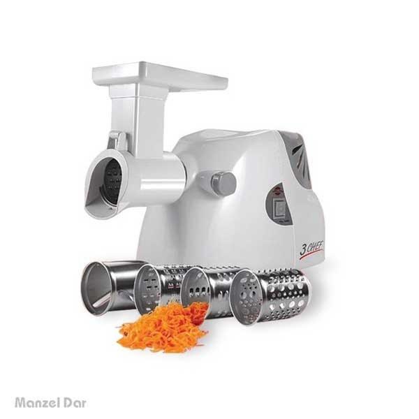 تصویر چرخ گوشت و غذاساز پارس خزر مدل همه کاره Pars Khazar Hamehkareh Meat Mincer