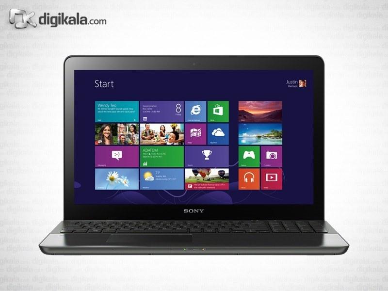 img لپ تاپ ۱۵ اینچ سونی VAIO Fit SVF15A18CX Sony VAIO Fit SVF15A18CX   15 inch   Core i7   12GB   1TB   2GB