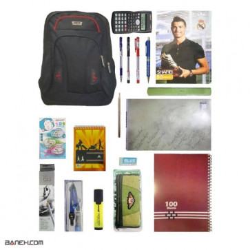 پکیج اقتصادی لوازم تحریر پسرانه کلاس 7 تا 12 Economical Package Boys   Economical Stationery Package for Boys 7 to 12