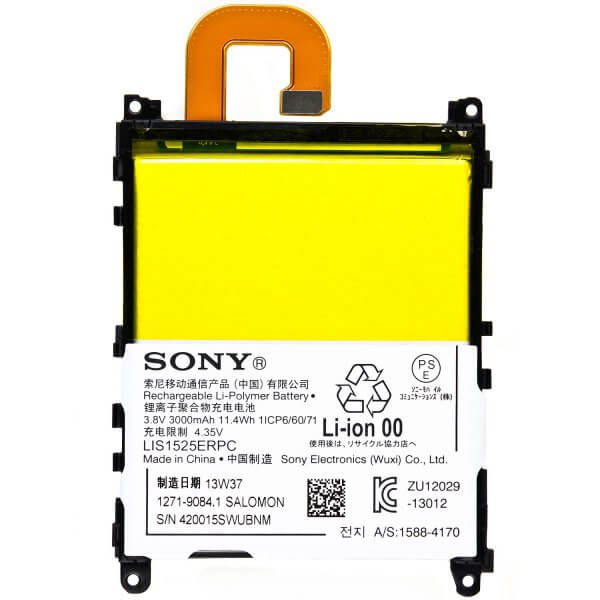 تصویر باتری موبایل مدل Xperia Z1 با ظرفیت 3000mAh مناسب برای گوشی موبایل سونی Xperia Z1 Xperia Z1 3000mAh Mobile Phone Battery For Sony Xperia Z1