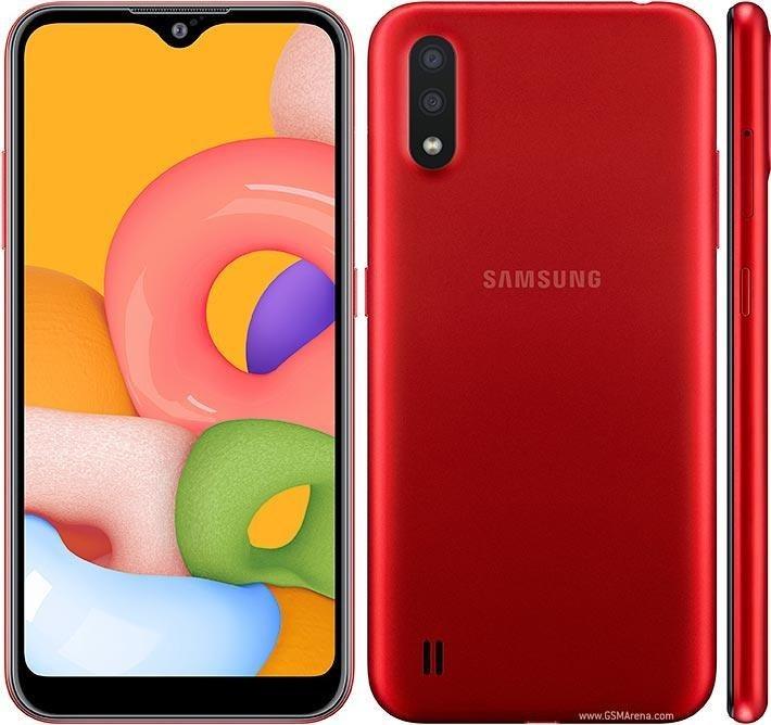 تصویر گوشی موبایل سامسونگ گلکسی A01 با قابلیت 4 جی 16 گیگابایت دو سیم کارت موبایل سامسونگ Galaxy A01 LTE 16GB Dual SIM Mobile Phone