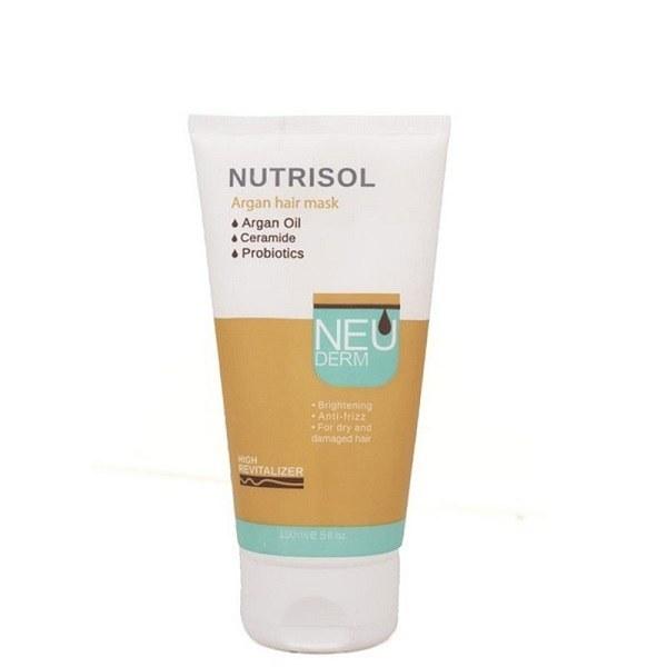 تصویر ماسک موی آرگان نوتریسول نئودرم ا Neuderm Nutrisol Argan Hair Mask Neuderm Nutrisol Argan Hair Mask