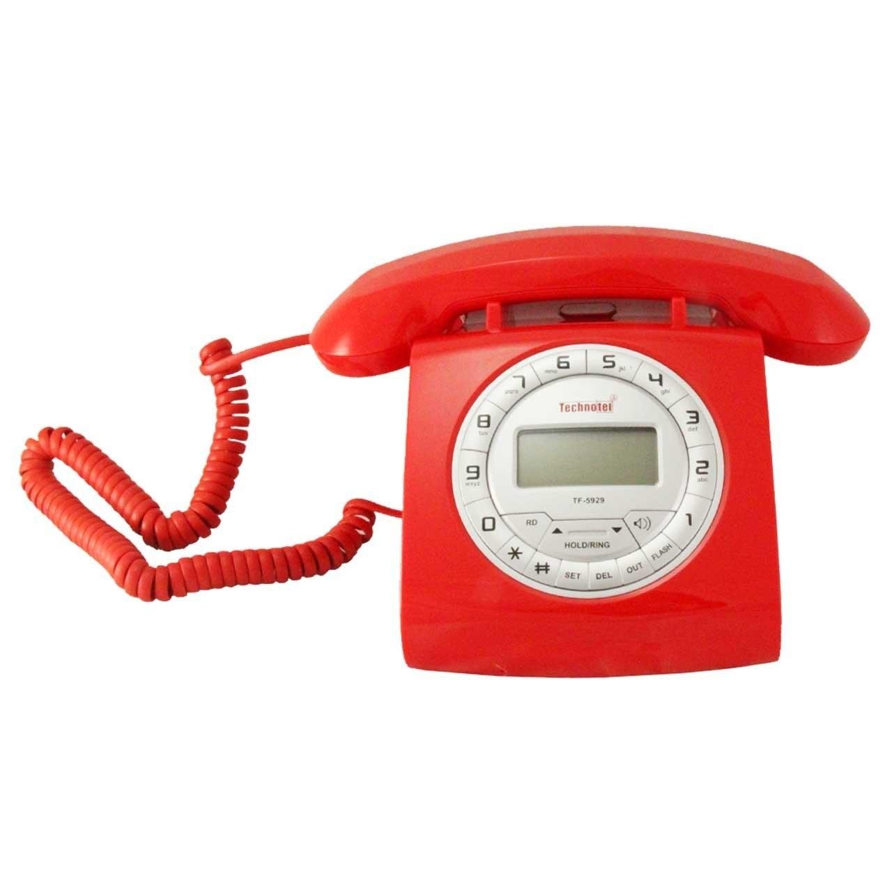 تصویر تلفن تکنوتل مدل 5929 technotel 5929 Phone