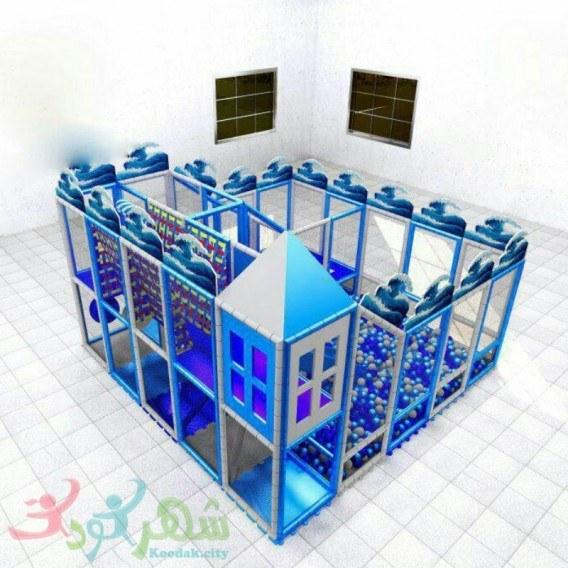 سافت پلی گراند کودک دو طبقه مدل EK20