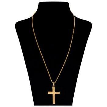 گردنبند بهارگالری طرح صلیب مدل Classic Cross کد 202050 |
