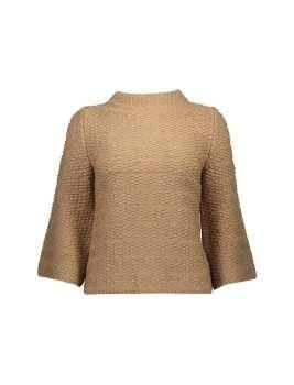 پلیور یقه ایستاده زنانه | Women Stand Up Collar Sweater