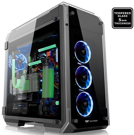 main images کیس ترمالتیک مدل View ۷۱ Tempered Glass Edition Thermaltake View 71 Tempered Glass Edition Full Tower Case