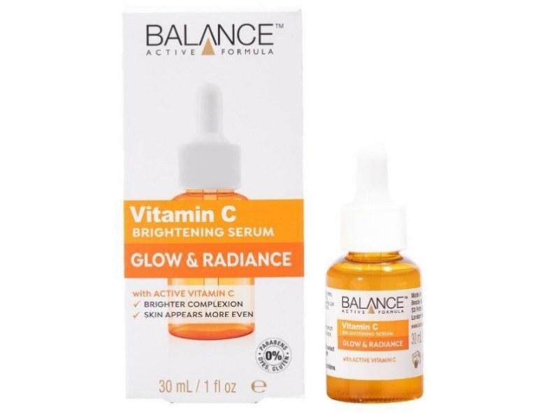 تصویر سرم بالانس اکتیو فرمولا درخشان کننده و روشن کننده ویتامین C vitamin C brightening serum glow & radiance BALANCE active formula