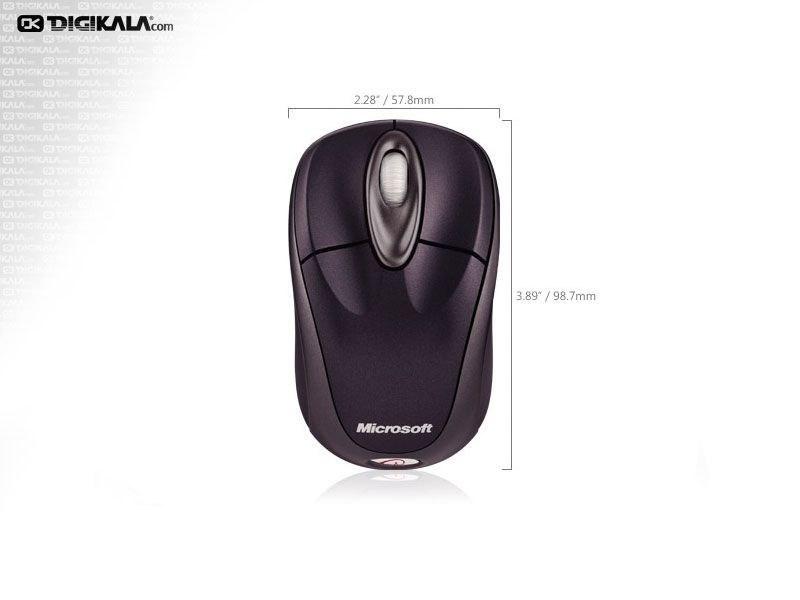 تصویر ماوس مایکروسافت وایرلس نوت بوک اپتیکال 3000 Microsoft Wireless Notebook Optical Mouse 3000