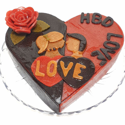 تصویر کیک تولدِ عشق