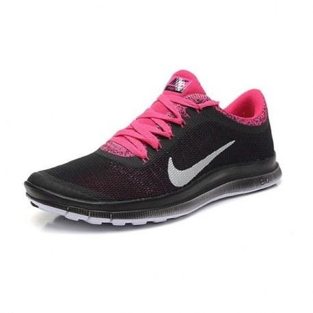 کتانی نایک فری زنانه Nike Free 3.0 V6 Womens Black Pink