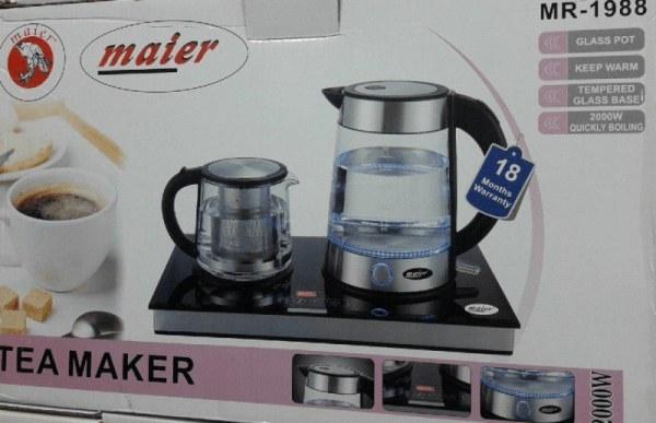 تصویر چای ساز مایر مدل MR-1988 Maier MR-1988 Tea Maker