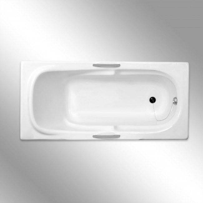 تصویر وان حمام توکار سنی پلاستیک مدل اطلس