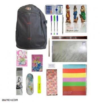 پکیج متوسط لوازم تحریر دخترانه کلاس 7 تا 12 Medium Package Girls   Medium Stationery Package for Girls 7 to 12