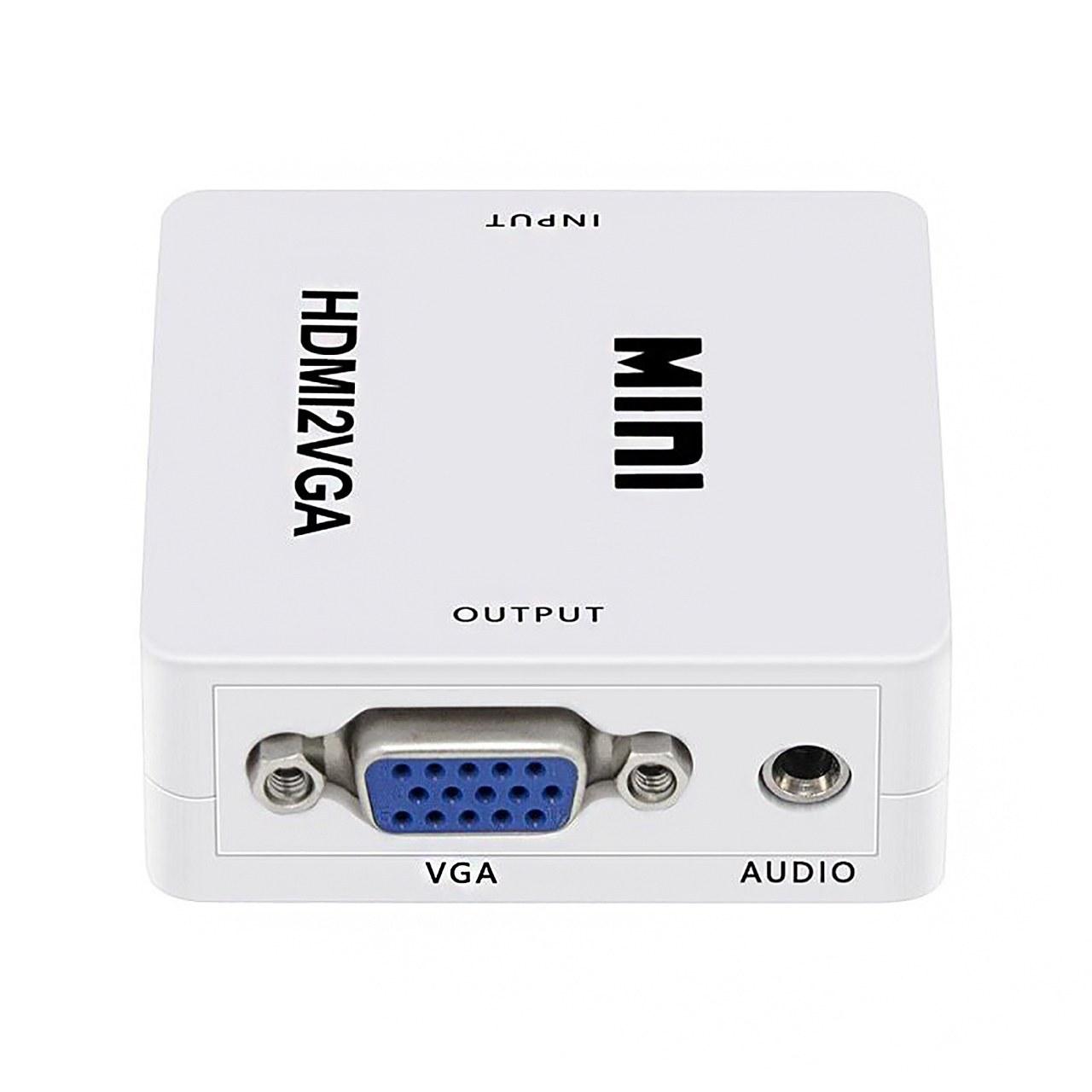 تصویر تبدیل HDMI به VGA برند MINI