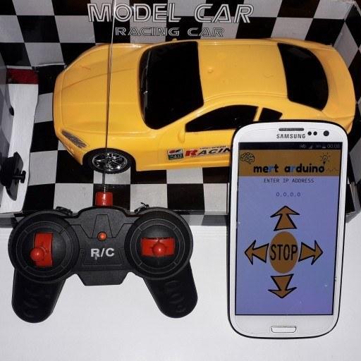ماشین کنترل از راه دور با موبایل   ماشین کنترل از راه دور با گوشی موبایل