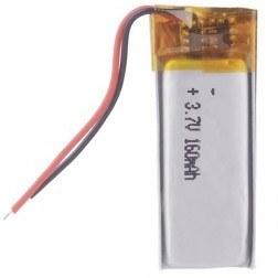 main images باتری لیتیوم پلیمر 3.7 ولت با ظرفیت 160mAh