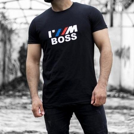 تیشرت مردانه سایز بزرگ BOSS