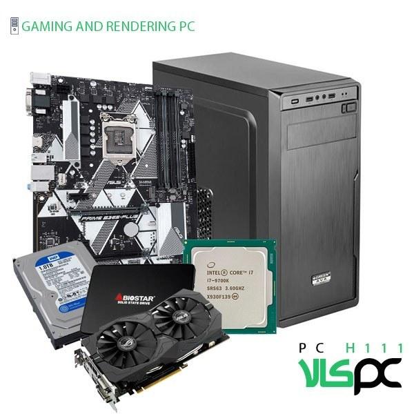 تصویر سیستم گیمینگ / رندرینگ / طراحی و مهندسی H111