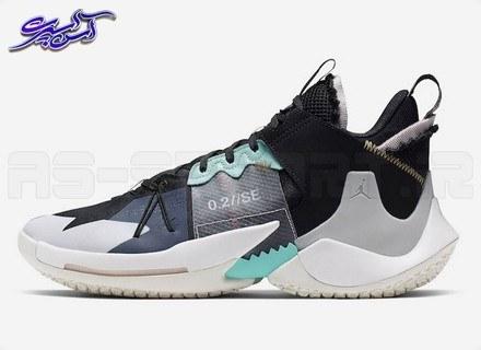عکس کفش بسکتبال جردن مدل وای نات زیرو (Jordan Why Not Zer0.2 SE PF Black/Vast Grey)  کفش-بسکتبال-جردن-مدل-وای-نات-زیرو-jordan-why-not-zer02-se-pf-black-vast-grey