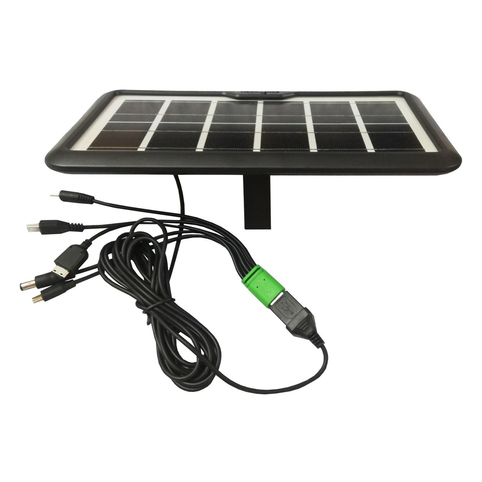 تصویر پنل خورشیدی سی سی لمپ مدل CL-638WP