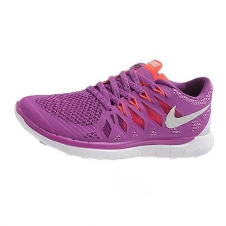 کتانی نایک فری زنانه Nike Free 5.0 Women Purple White
