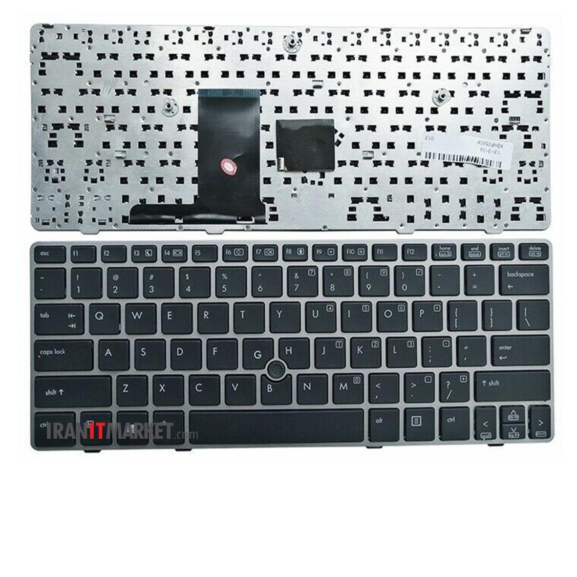 تصویر کیبورد لپ تاپ اچ پی KEYBOARD HP Elitebook 2570p
