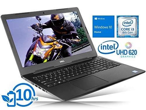 لپ تاپ Dell Inspiron 3583 (i3583-3756BLK) Laptop، صفحه نمایش لمسی 15.6 اینچی HD ، Intel Core i3-8145U Upto 3.90GHz ، 8 گیگابایت رم ، 128 گیگابایت NVMe SSD ، HDMI ، کارت خوان ، Wi-Fi ، بلوتوث ، ویندوز 10 Home S