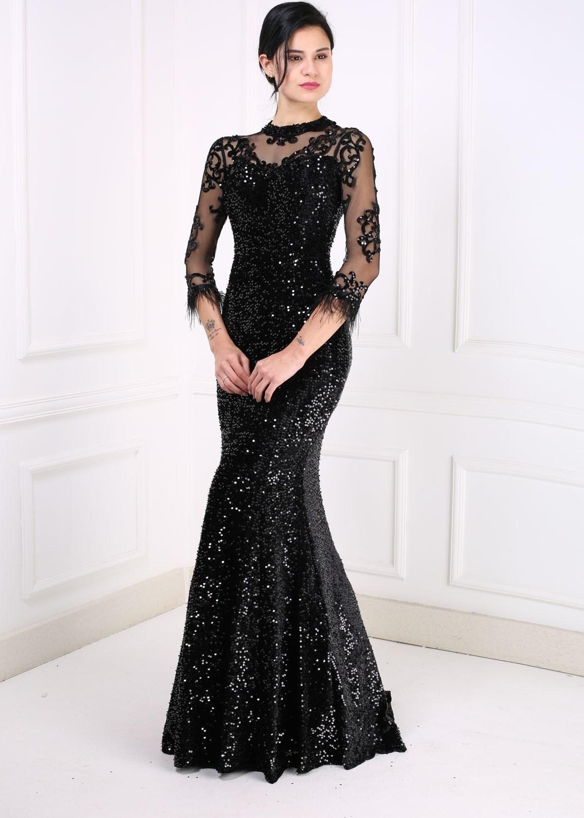 image لباس مجلسی بلند برند Abiyeniall کد 1609715702