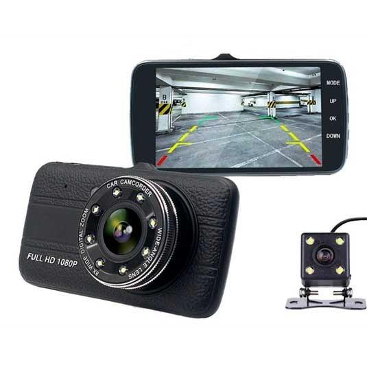 تصویر دوربین ماشین Full HD دو دوربین دید در شب مدل EA216