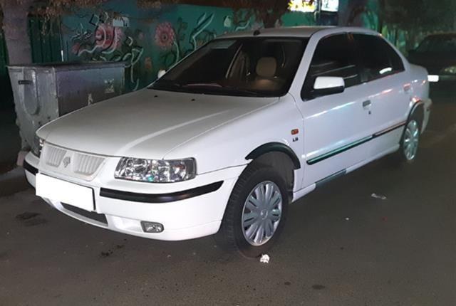 ایران خودرو، سمند، lx، 1396
