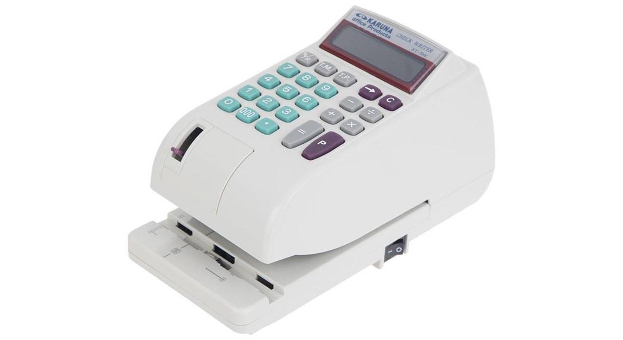 تصویر دستگاه پرفراژ چک کارونا مدلKT-700C Karuna KT-700C Check Printer