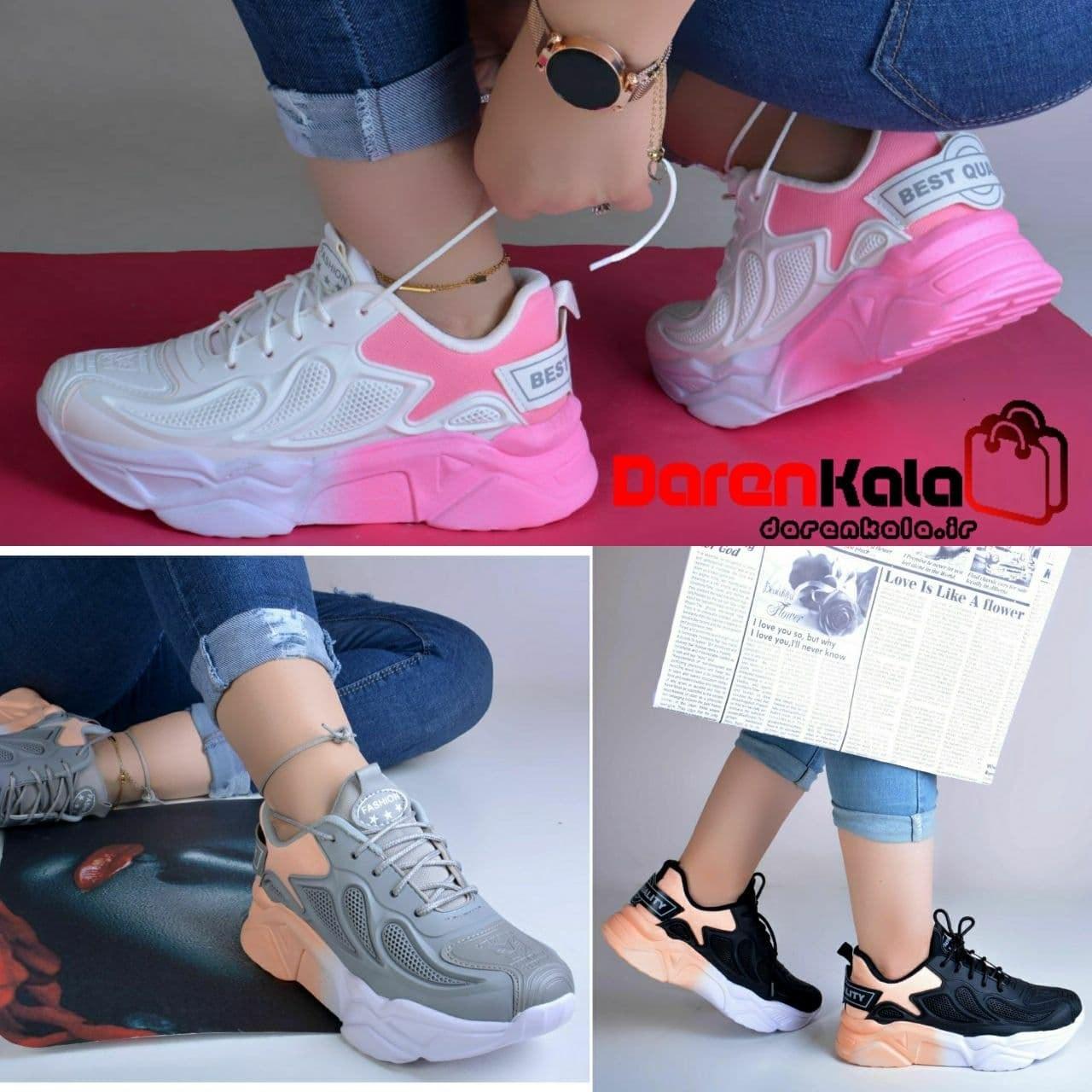 تصویر کفش کتانی اسپرت زنانه دخترانهds00115
