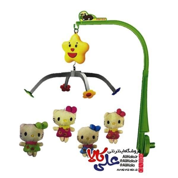 آویز تخت موزیکال طرح کیتی kitty musical mobile