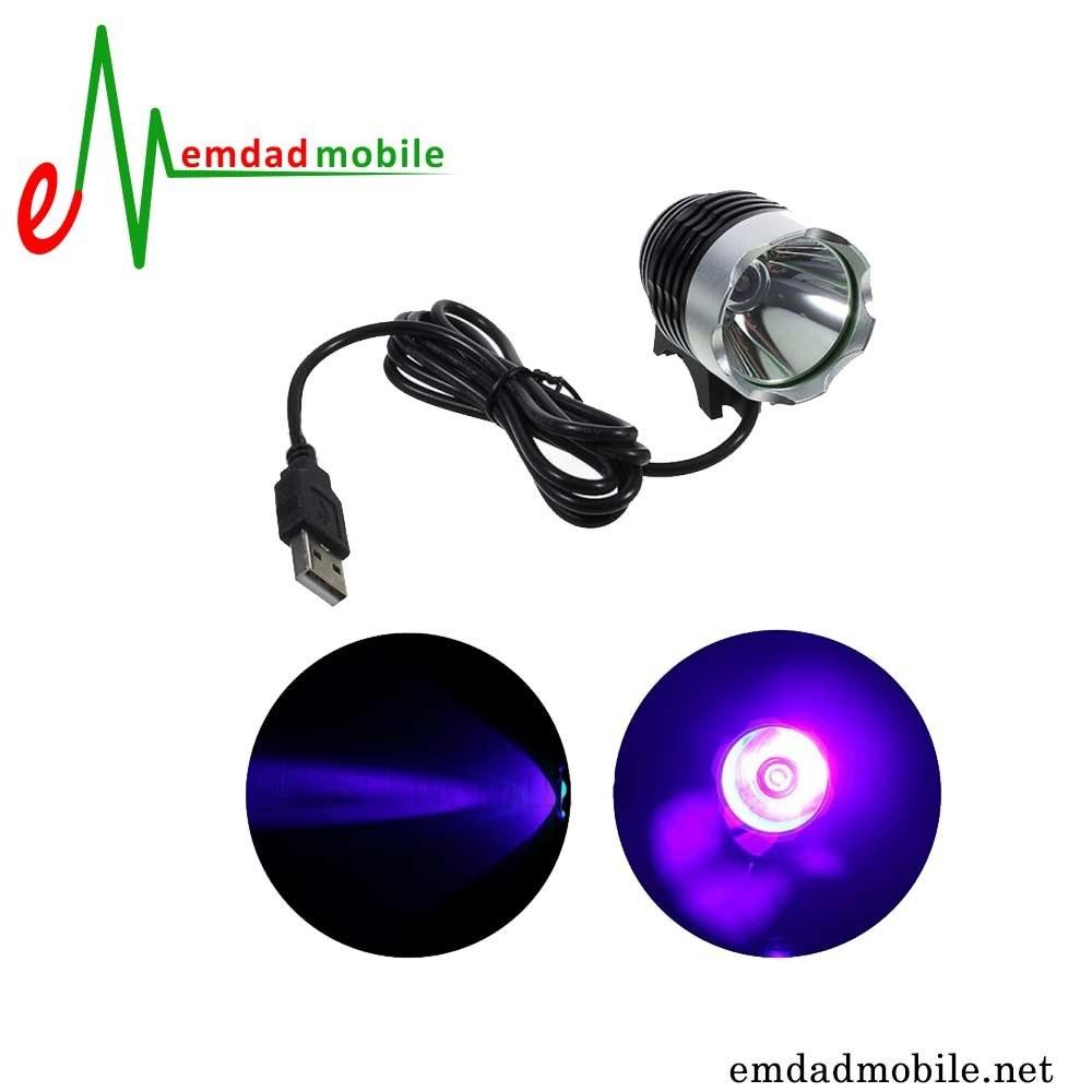 لامپ یو وی 3 وات مخصوص تعمیر برد گوشی USB UV Lamp