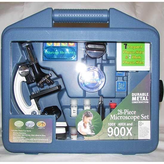 تصویر میکروسکوپ دانش آموزی Solomark مدل  900X Microscope
