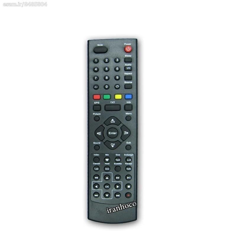 عکس کنترل تلویزیون LCD ایکس ویژن رکورد دار  کنترل-تلویزیون-lcd-ایکس-ویژن-رکورد-دار
