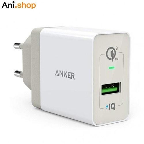 تصویر شارژر اندروید پک دار اورجینال ANKER A2013َ 3.0 ANKER Quick Charge 3.0