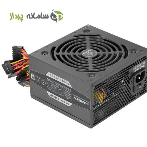 تصویر منبع تغذیه (پاور) گرین 400 وات مدل GREEN Power GP400A-ECO Rev3.1 GP400A-ECO Rev3.1