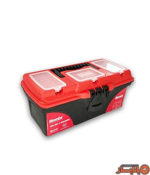تصویر جعبه ابزار پلاستیکی رونیکس مدل RH-9151 ا Ronix RH-9151 Tool bags Ronix RH-9151 Tool bags