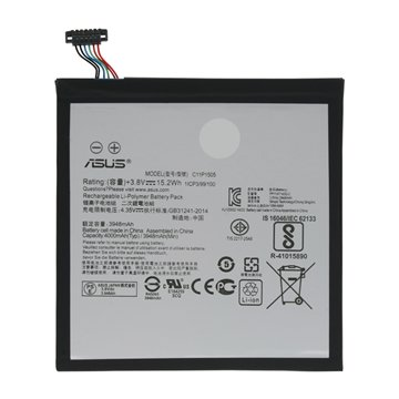 تصویر باتری اصلی تبلت ایسوس Asus Zenpad 8.0 Battery Tablet Asus Zenpad 8.0 - C11P1505