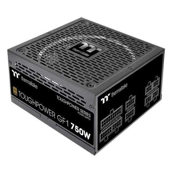 تصویر منبع تغذیه کامل ماژولار کامپیوتر ترمالتیک مدل Toughpower 750W GF1 Thermaltake Toughpower 750W fully modular GF1 Computer Power Supply
