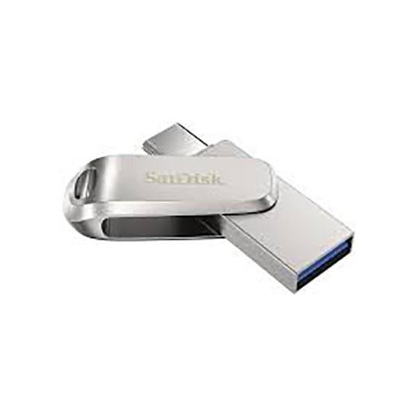 تصویر فلش مموری سن دیسک مدل Ultra Dual Drive USB Type-C ظرفیت 512 گیگابایت