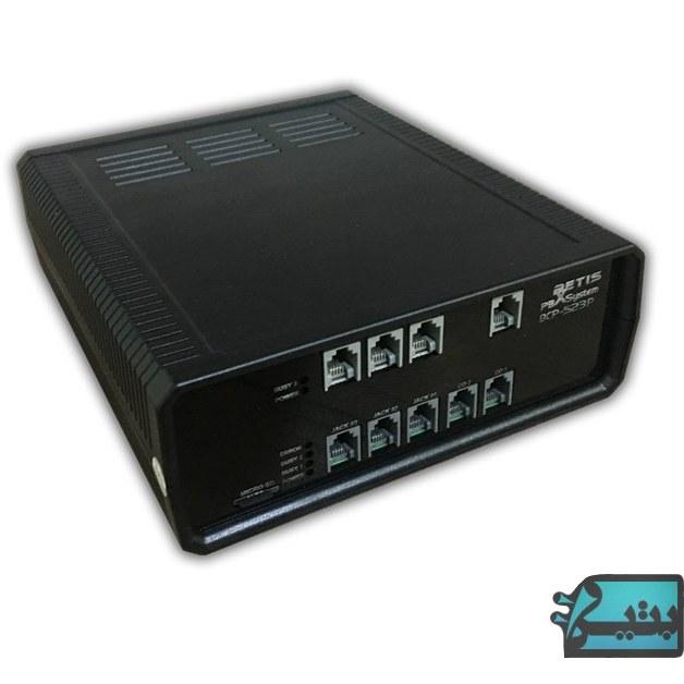 تصویر سانترال و تلفن گویا  بتیس ظرفیت 3 به 6 مدل BCP-523P