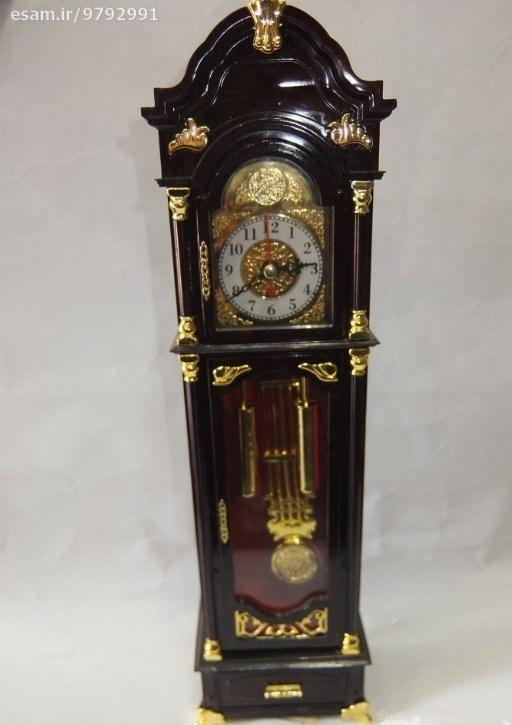 مطابق تصاویر | ساعت رو میزی 35 سانتی طرح ساعت ایستاده قدیمی