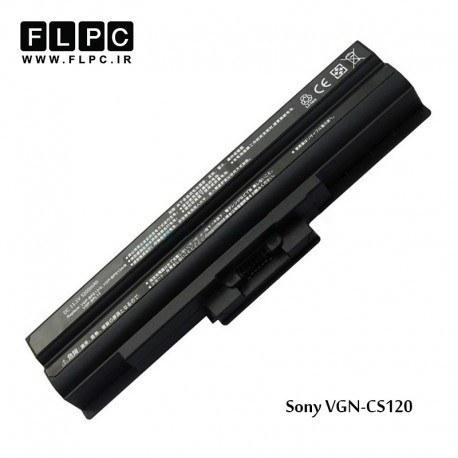 تصویر باطری لپ تاپ سونی Sony Vaio VGN-CS120 Battery (Black) 6cell