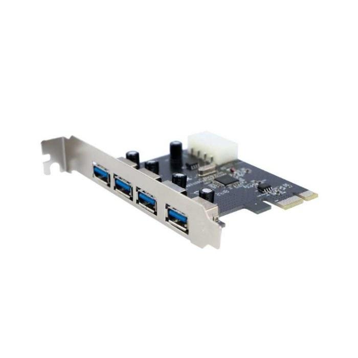 تصویر کارت USB 3.0 چهار پورت PCI رویال مدل RP-304