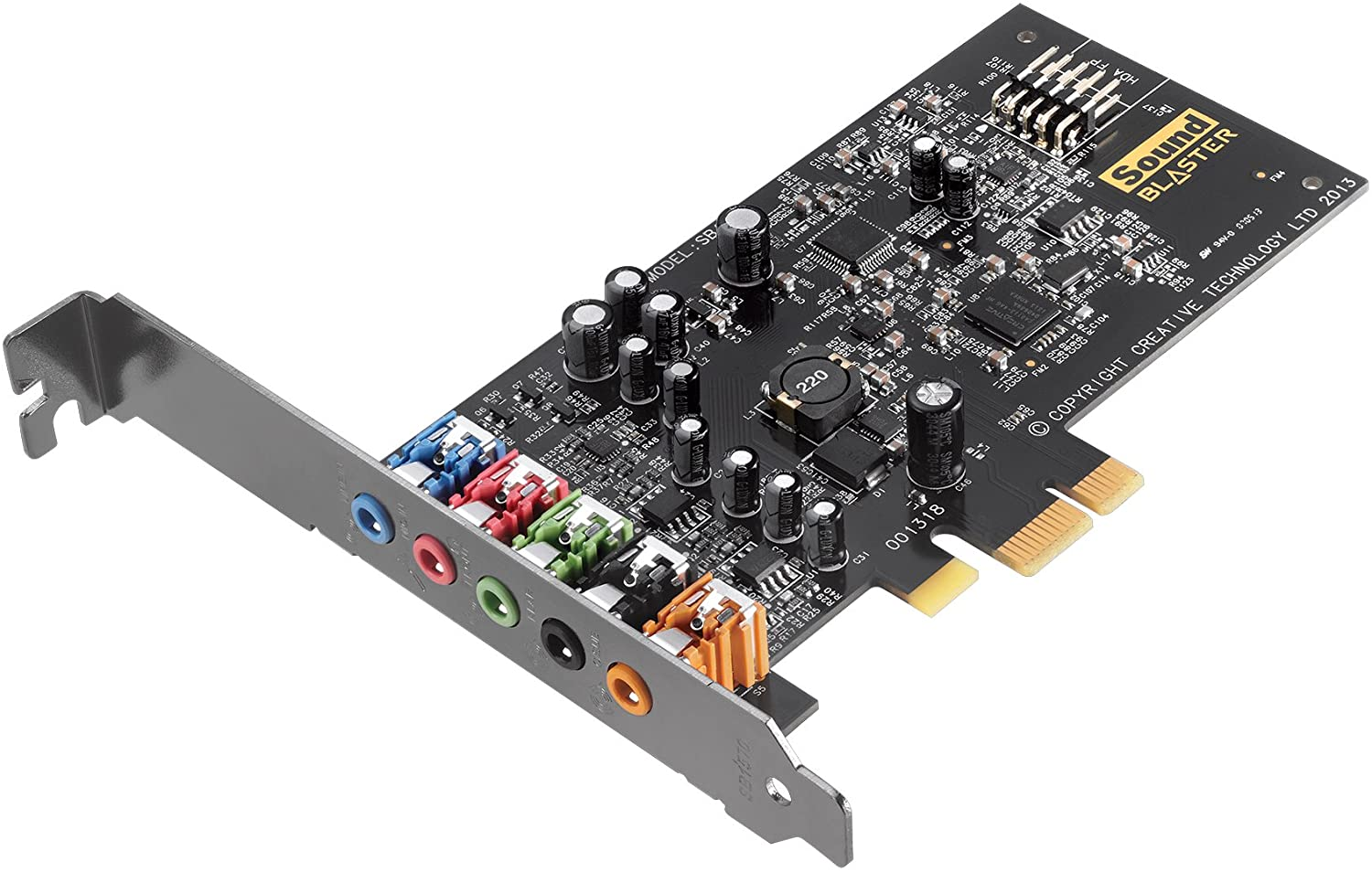 main images Creative Sound Blaster Audigy FX PCIe 5.1 Sound Card with High Performance Headphone Amp
