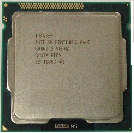 پردازنده پنتیوم جی ۶۴۵ سندی بریج
